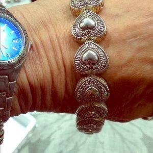 Beautiful heart bracelet